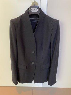 Windsor Klassischer Blazer zwart Wol