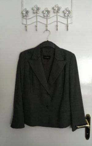 Windsor Blazer in lana grigio scuro