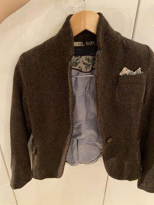 Zara Blazer de lana marrón