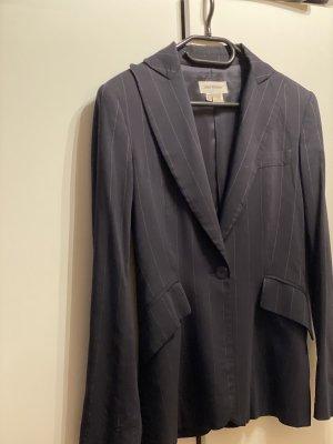 Blazer von Zara, dunkelblau , gestreift