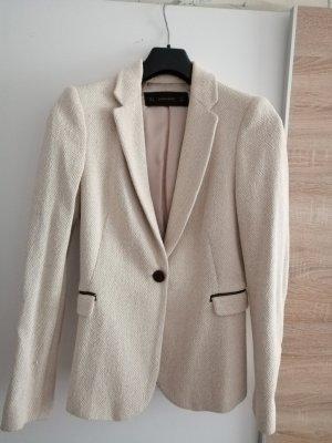Blazer von Zara Größe S in beige.