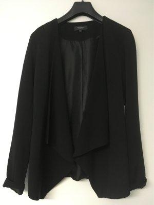 Manguun Lange blazer zwart