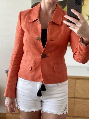 Windsor Klassischer Blazer oranje
