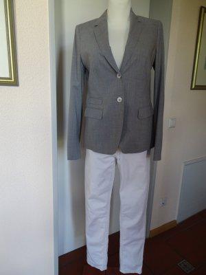 Windsor Klassischer Blazer lichtgrijs-grijs Wol