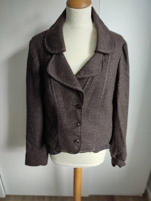 Promod Wollen blazer bruin