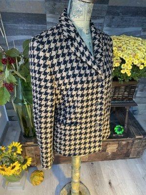 Blazer Wolle  braun schwarz  Größe M Vintage