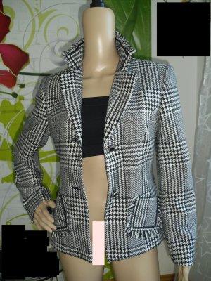 Steilmann Blazer en laine blanc-noir
