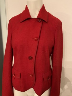 Ambiente Short Blazer red wool