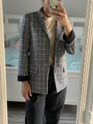 Blazer xs 34 grau kariert H&M Jacke