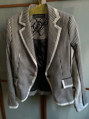 Zara Sweat Blazer black-white