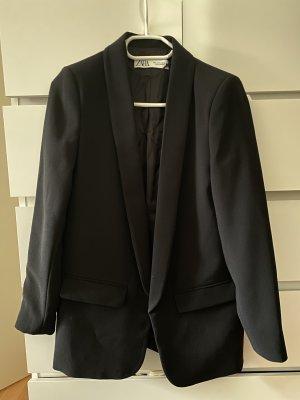 Zara Blazer in lana nero