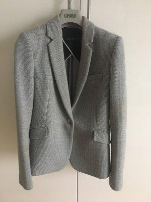 Zara Blazer in maglia grigio-argento