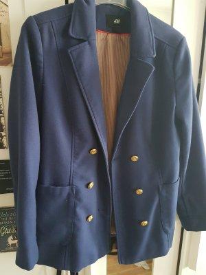 H&M Blazer azul oscuro