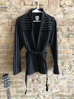Gap Wraparound Jacket multicolored wool