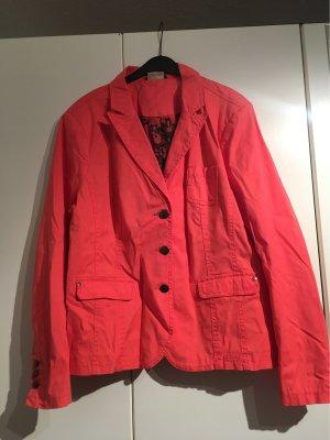 Street One Blazer sweat rouge clair-noir coton