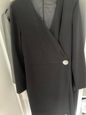 Mango Coat Dress black