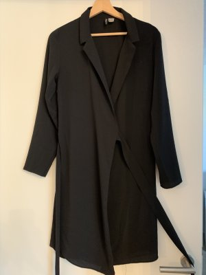 H&M Divided Blazer long noir