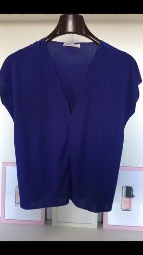 Trafaluc by Zara Camicia maglia blu