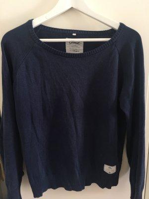Bleed Crewneck Sweater dark blue