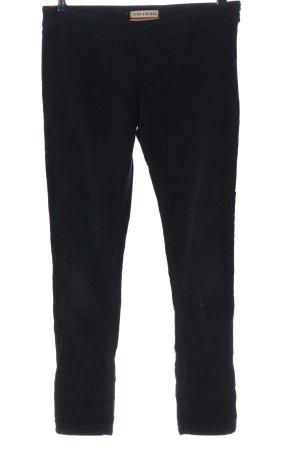 Bleifrei Corduroy broek zwart zakelijke stijl