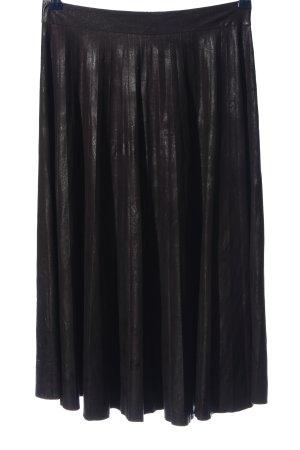 Bleifrei Rok met hoge taille zwart casual uitstraling