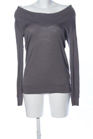 Bleifrei Lang shirt lichtgrijs casual uitstraling