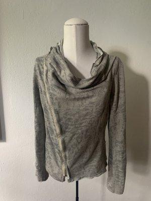 Bleifrei Sweat Jacket light grey-grey