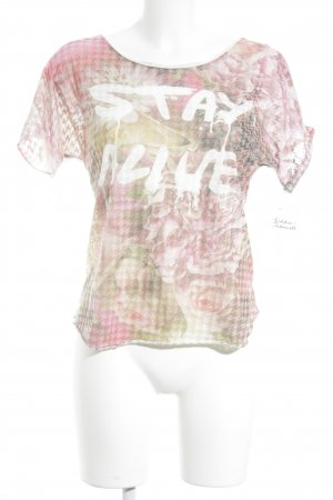 Bleifrei T-Shirt abstract pattern casual look
