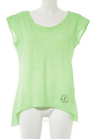 Bleifrei T-Shirt grün Casual-Look