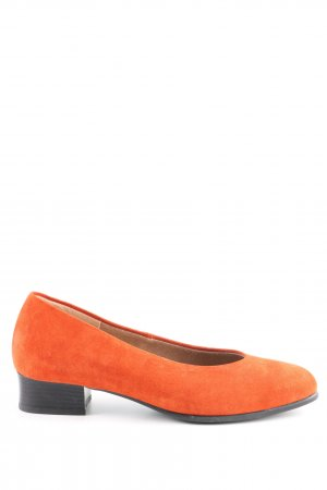 Bleil Foldable Ballet Flats light orange casual look
