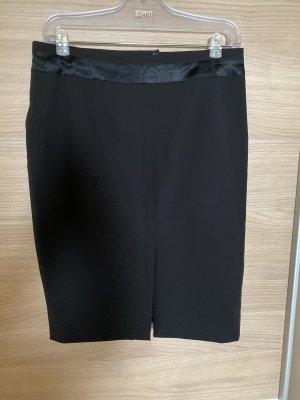 Falda de tubo negro