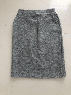 Yessica Falda de tubo gris