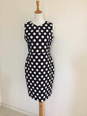 Phase eight Pencil Dress white-dark blue polyester