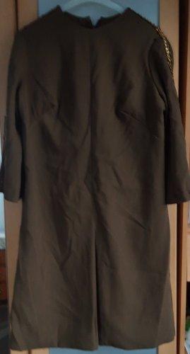 Bleistiftkleid Abendkleid 3/4 Arm khaki Gr.44