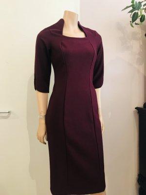 Falda estilo lápiz púrpura Licra