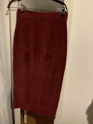 Reserved Pencil Skirt bordeaux