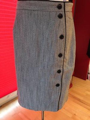 H&M Falda de tubo multicolor tejido mezclado