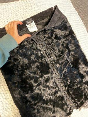 Dolce & Gabbana Pencil Skirt black