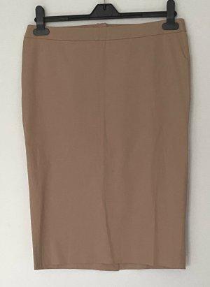 Patrizia Pepe Pencil Skirt nude cotton