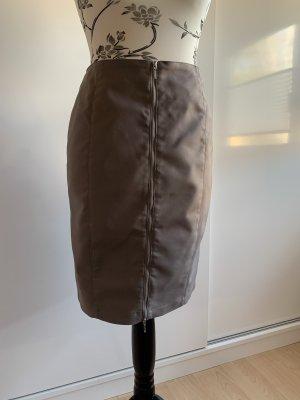 Ashley Brooke Pencil Skirt grey brown