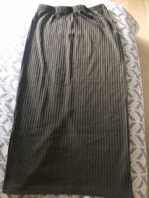 Bleistiftrock Khaki