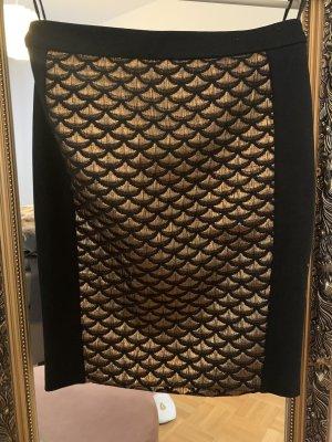 BIBA pariscop Ołówkowa spódnica czarny-złoto