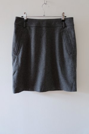 Atelier Gardeur Jupe en laine gris