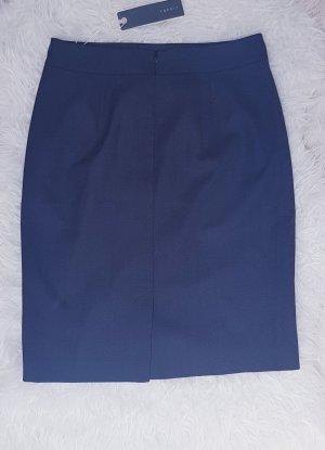 Esprit Pencil Skirt blue-dark blue