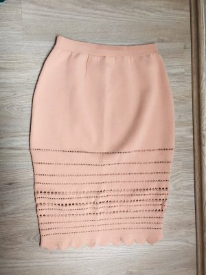 H&M Premium Pencil Skirt multicolored mixture fibre