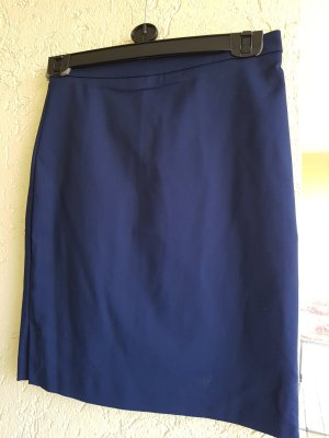 bleistiftrock von Mango in dunkelblau
