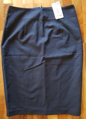 Bleistiftrock von ORSAY, dunkelblau, Größe 38