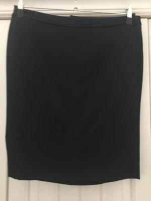 Patricia Pepe Falda de tubo negro tejido mezclado