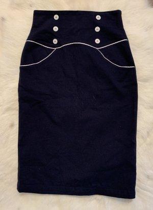 Pencil Skirt multicolored cotton