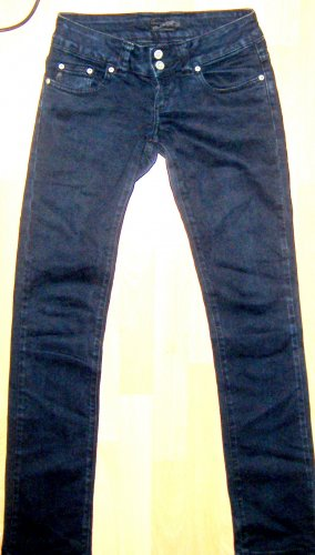 Blend Low Rise Jeans black-dark blue